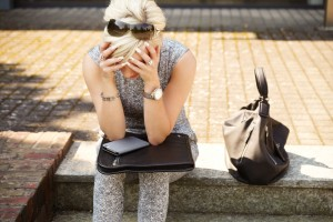 vrouw burn-out